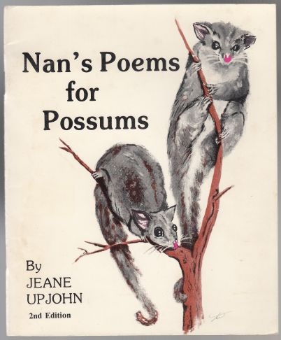 Image for Nan's Poems for Possums  SIGNED