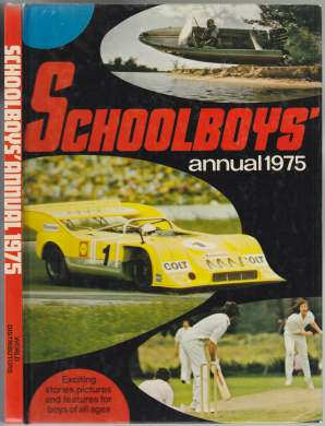 Image for Schoolboys' Annual 1975