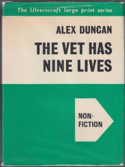 Image for The Vet Has Nine Lives  LARGE PRINT