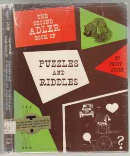 Image for The Second Adler Book of Puzzles and Riddles