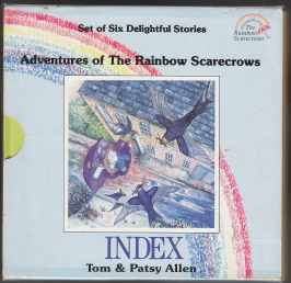Image for Adventures of the Rainbow Scarecrows Complete 6 Book set in Slipcase: The Storm, Rainbow Treasure, Zizz Cleans Up, Scruffy, The Will-O'-The-Wisp, Captain Scruffy