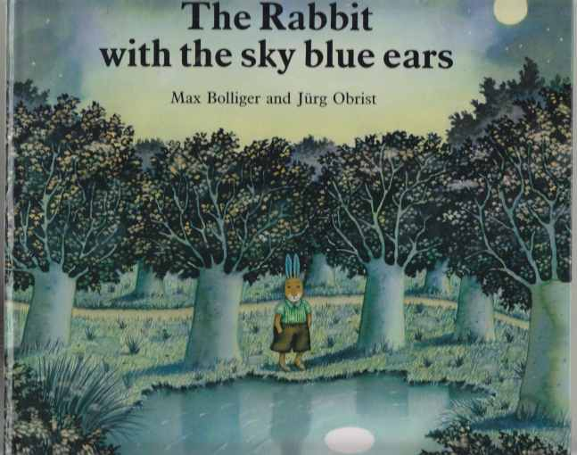 Image for The Rabbit with the Sky Blue Ears