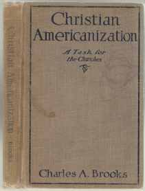 Image for Christian Americanization  A Task for the Churches  SIGNED