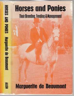 Image for Horses and Ponies Their Breeding, Feeding & Management