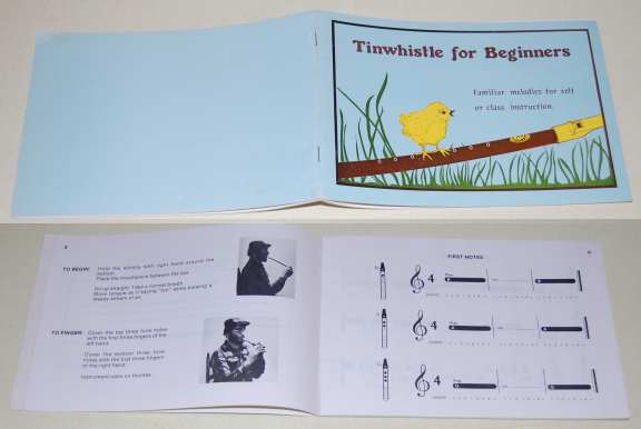 Image for Tinwhistle for Beginners