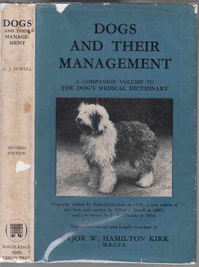 Image for Dogs And Their Management A Companion Volume to The Dog's Medical Dictionary