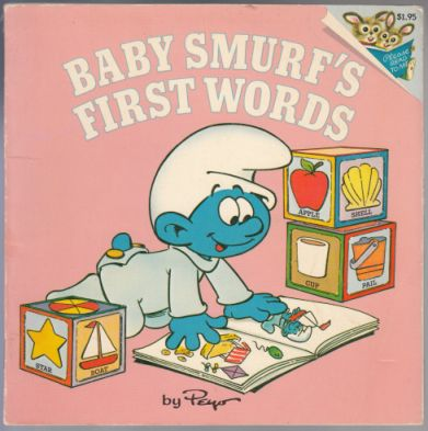 Image for Baby Smurf's First Words