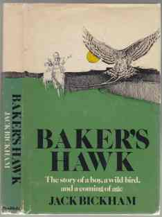Image for Baker's Hawk; The Story of a Boy, a Wild Bird, and a Coming of Age