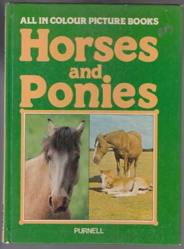 Image for All In Colour Picture Books  Horses and Ponies