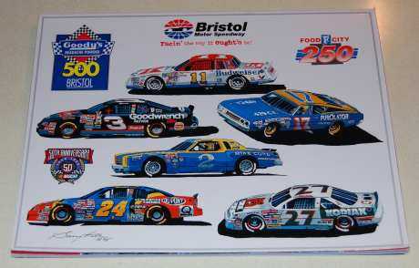 Image for Bristol Motor Speedway [1998 Program- NASCAR Winston Cup Series]