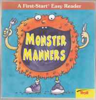 Image for Monster Manners  A First-Start Easy Reader