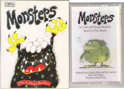 Image for Monsters Book & Cassette Tape