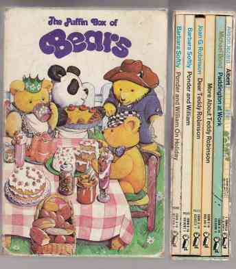Image for The Puffin Box of Bears  Six Slipcased Books In Colorful Illustrated Box