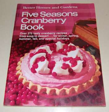 Image for Better Homes and Gardens Five Seasons Cranberry Book