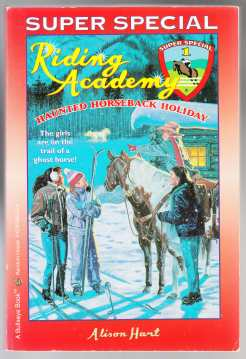 Image for Riding Academy  Super Special 1  Haunted Horseback Holiday
