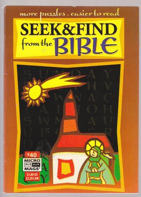 Image for Seek & Find From the Bible Micro Mags #40