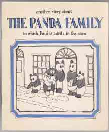 Image for Another Story About The Panda Family in Which Paul is Adrift in the Snow