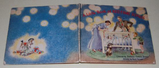 Image for A Little Book of Bedtime Songs