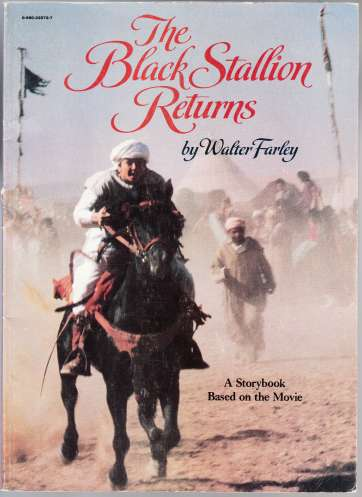 Image for The Black Stallion Returns  A Storybook Based on the Movie
