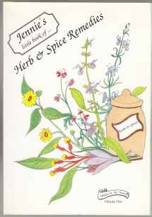 Image for Jennie's Little Book of Herb & Spice Remedies  SIGNED