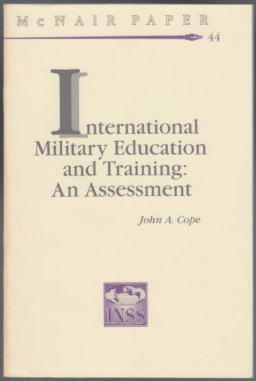 Image for International Military Education and Training: An Assessment McNair Paper 44