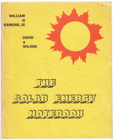 Image for The Solar Energy Notebook