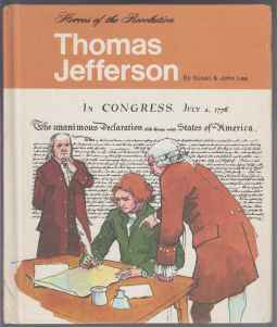 Image for Thomas Jefferson  Heroes of the Revolution