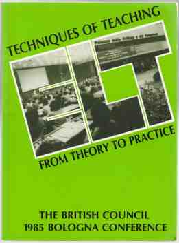 Image for Techniques of Teaching  From Theory to Practice