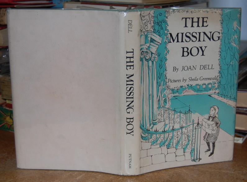 Image for The Missing Boy  Signed w/ Letter