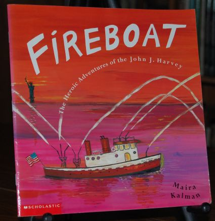 Image for Fireboat  The Heroic Adventures of the John J. Harvey