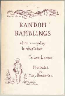 Image for Random Ramblings of an Everyday Birdwatcher  SIGNED