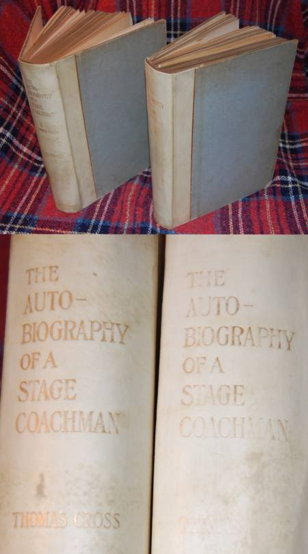 Image for The Autobiography of a Stage Coachman 1st Limited Edition (2 Volumes)