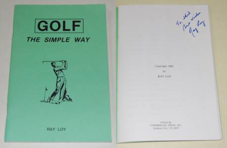 Image for Golf the Simple Way  SIGNED