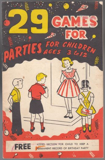 Image for 29 Games for Parties for Children  Ages 3 to 12