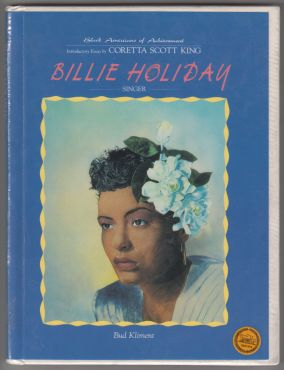 Image for Billie Holiday Singer Black Americans of Achievement