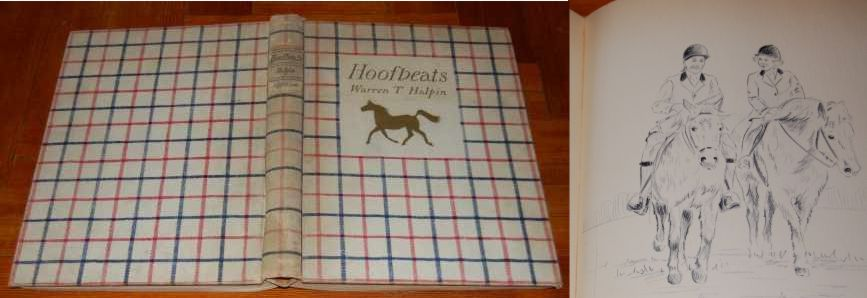 Image for Hoofbeats. Drawings and Comments. 1938 Signed, Numbered, Limited Edition