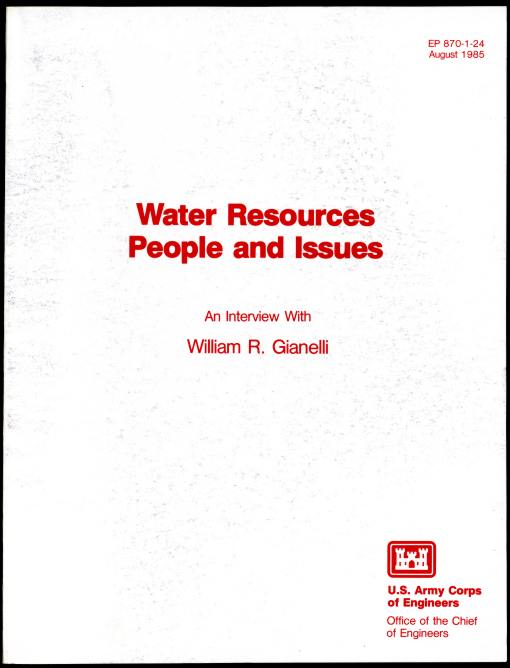 Image for Water Resources People and Issues  An Interview with William R. Gianelli Assistant Secretary of the Army (Civil Works)