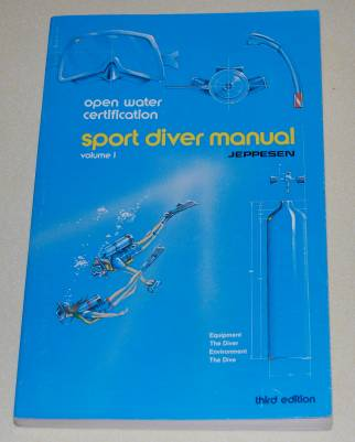Image for Sport Diver Manual Volume 1 Open Water Certification  Third Edition