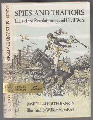Image for Spies and Traitors  Tales of The Revolutionary and Civil Wars