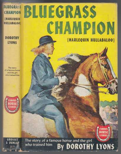 Image for Bluegrass Champion or Harlequin Hullabaloo