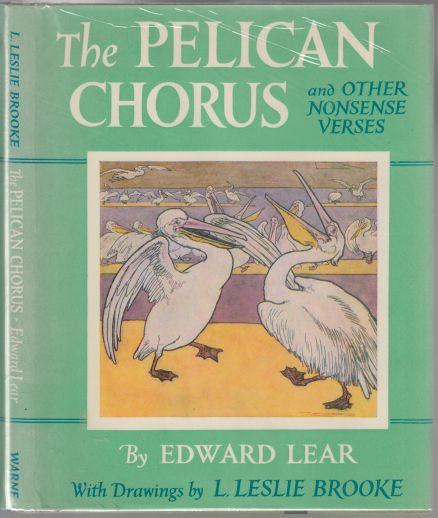 Image for The Pelican Chorus and Other Nonsense Verses