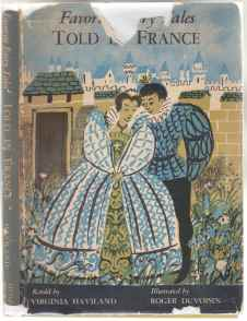 Image for Favorite Fairy Tales Told In France  SIGNED