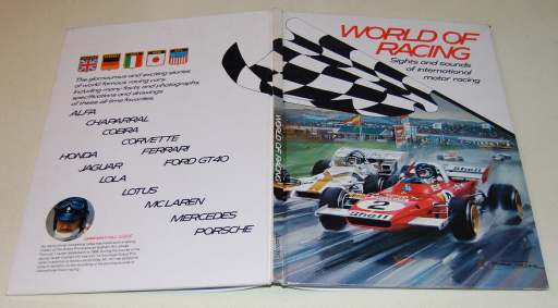 Image for World Of Racing  Sights and Sounds of International Motor Racing