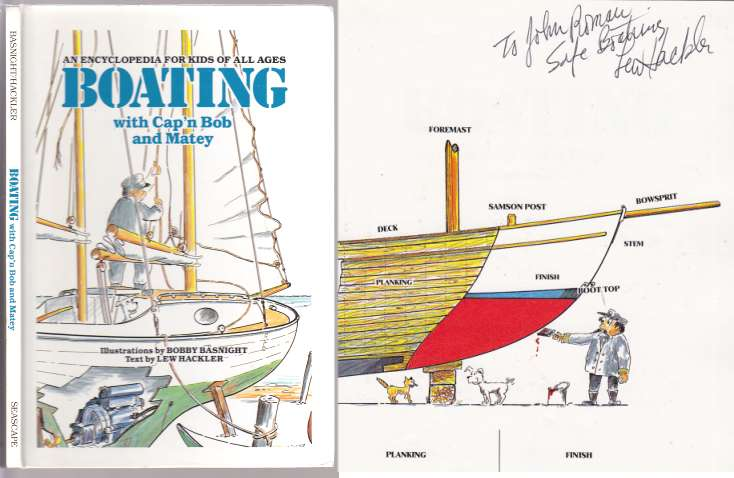 Image for Boating with Cap'n Bob and Matey An Encyclopedia For Kids of All Ages  SIGNED