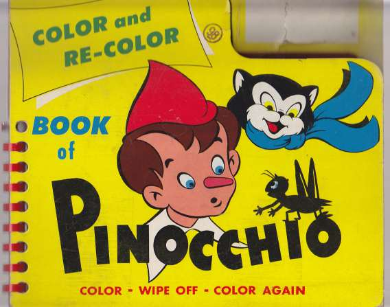 Image for Color and Re-Color Book of Pinocchio