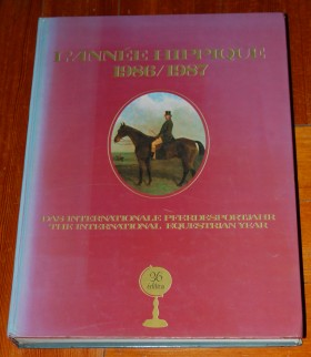 Image for L'Annee Hippique 1986/1987 The International Equestrian Year