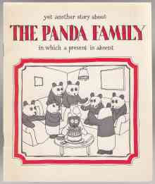 Image for Yet Another Story About The Panda Family In Which a Present is Missing