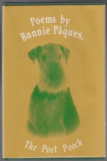 Image for Poems By Bonnie Paques The Poet Pooch (Airedale Dog)  SIGNED