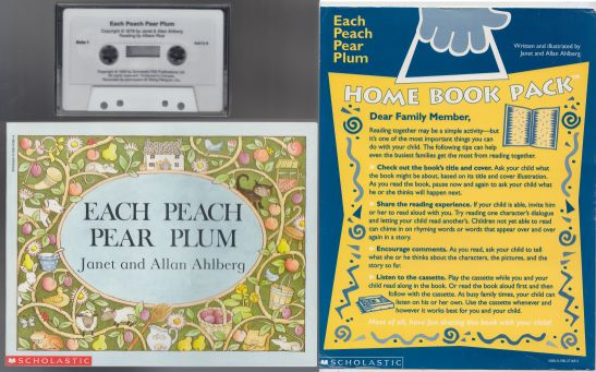 Image for Each Peach Pear Plum  Home Book Pack  Includes Cassette Tape and Instruction Card Book Summary