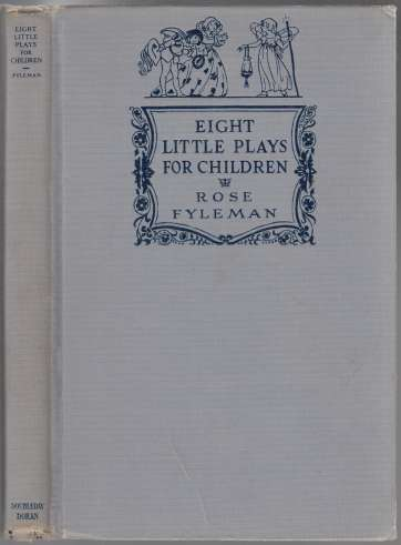 Image for Eight Little Plays For Children